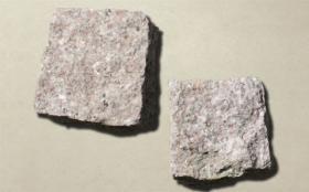 砂岩ピンコロ赤御影 | 自然石タイル