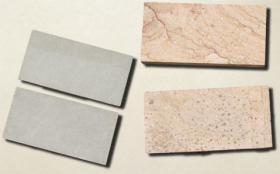 砂岩緑と相調 | 自然石タイル
